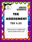 4.8A TEK Assessment Identify Relative Measurement Sizes