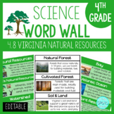 4.9 VA SOL Science VA Resources Word Wall