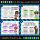 Math TEK 4.9A ★ Frequency Tables, Stem-and-Leaf & Dot Plots Task Cards