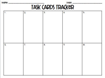 4.9B: Data in Graphs STAAR Test-Prep Task Cards (4.MD.4)