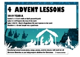 4 ADVENT LESSONS for 2019: Year A