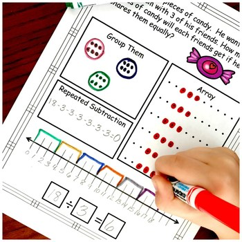 4 Activities To Practice Basic Division Facts