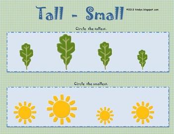 4 Activities in Measurement - Earth Day