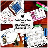 4 Activities to Practice Subtraction with Regrouping