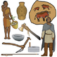 4 Ages History and Prehistory Clip Art Bundle