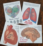 4 Anatomy Valentines