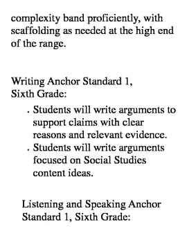 4 Anchor Standards