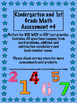 4 BOY, MOY and EOY assessments in 1 easy pack. Great for Kinder and 1st.