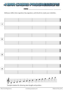 4 Bar Chord Progressions