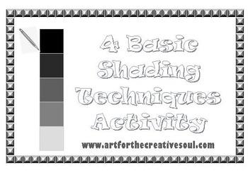 4 Basic Shading Techniques Activity