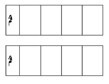 4-Beat Compositional Square Grid
