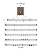 4 Beginning Baritone Ukulele Lessons- playing on the strings