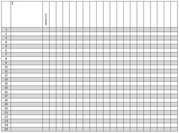 photograph regarding Blank Checklist identified as 4 Blank Record -editable