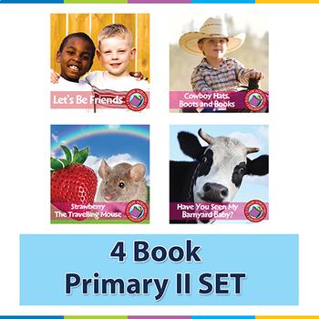 4 Book Primary II SET Gr. K-2