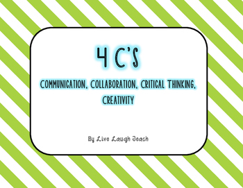 4 C's Posters