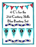 4 C's for the 21st Century Skills Blue Bunting Set