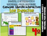 4º Grado_Los Insectos: Libreta interactiva ⏺PowerPoint y G. Slides