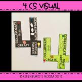 4 CS Poster - 4 CS Visual - 4 CS