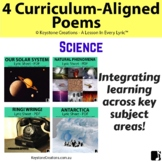 4 CURRICULUM-ALIGNED POEMS (Grades 3-7) ~ Science l Distan