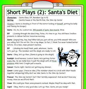 4 Christmas Plays - NO PREP Drama :-) - FREE!