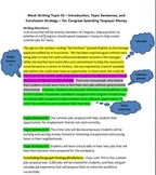 4 Common Core HS Models/Prompts for Argumentative/Informational Writing +Bonus