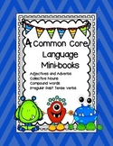 4 Mini-books: Adjectives & Adverbs, Collective Nouns, Comp