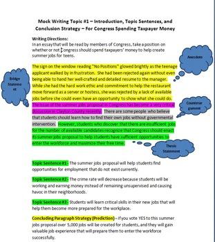 4 Common Core MS Models/Prompts for Argumentative/Informational Writing +Bonus