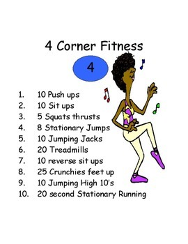 Physical Education - 4 Corner Fitness