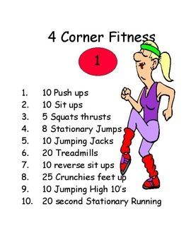 Physical Education - 4 Corner Fitness