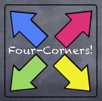 4-Corners Activity: 1-Step Equations & Inequalities with Negatives
