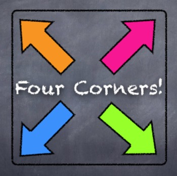 4-Corners Activity:  Solving One-Step Equations & Inequalities