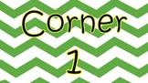 4 Corners Classroom Posters