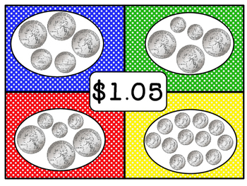 4 Corners Counting Coins