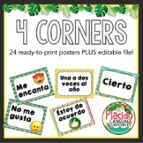4 Four Corners Posters