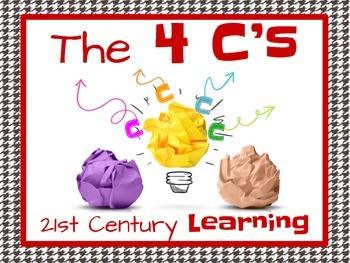 4 Cs Classroom Posters