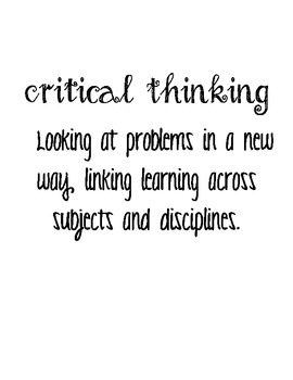 4 C's of 21st Century Learners