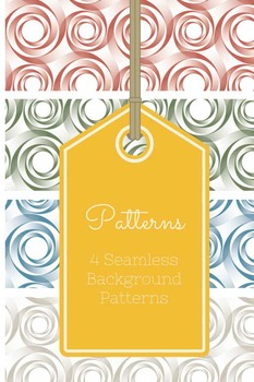 4 Custom Seamless Background Patterns