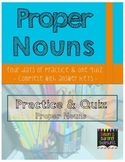 4 Days of Proper Noun Practice with an Assessment Quiz and