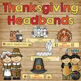 Thanksgiving Activities Themed Sentence Strip Headbands