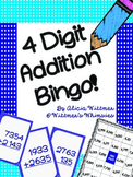 4-Digit Addition Bingo {Regrouping & Non-Regrouping}