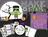"4-Digit Addition Game ""Make a Frank"""