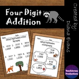 4 Digit Addition Practice