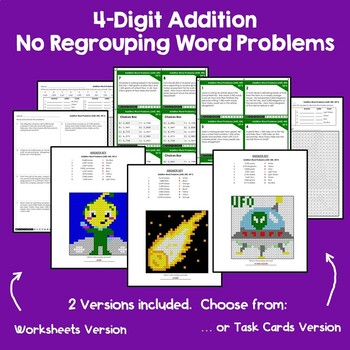 4-Digit Addition & Subtraction Without Regrouping