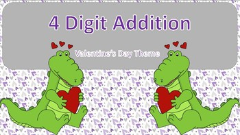4 Digit Addition Task Cards