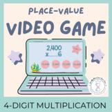 Google Classroom Math Assignments 4 Digit Multiplication Video Game