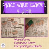 2nd Grade Place Value Games 4 Digit Numbers