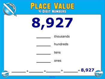 4-Digit Place Value SMART Board Lesson