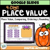4 Digit Place Value to Thousands for Google Classroom