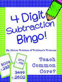 4-Digit Subtraction Bingo {Regrouping & Non-Regrouping}