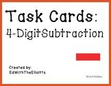 4-Digit Subtraction Task Cards